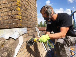 Gevelrenovatie hakken Bruinings Renovatie