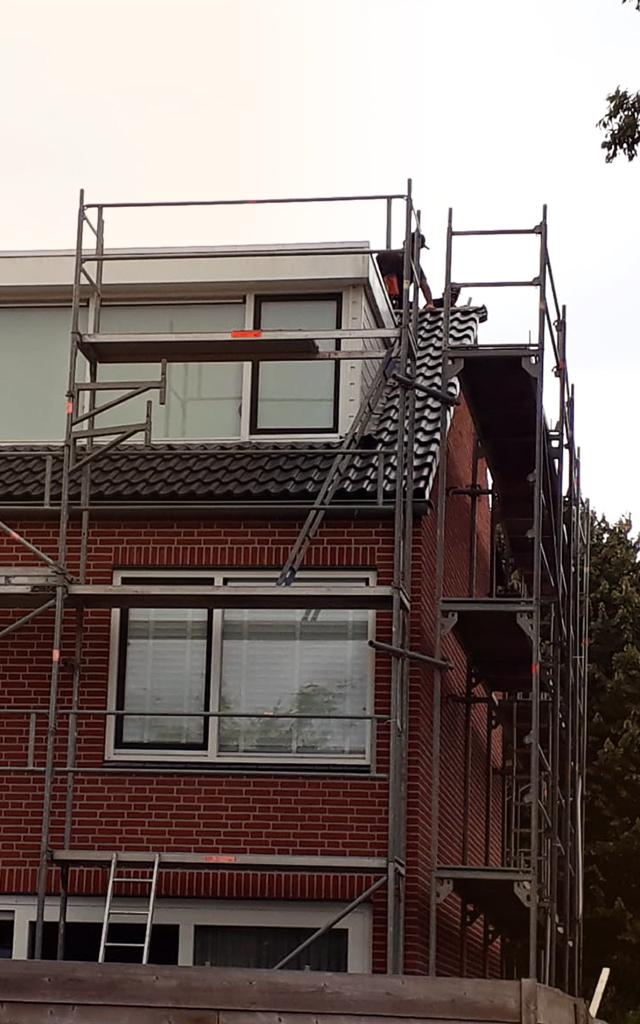 Steigerbouw Bruinings renovatie